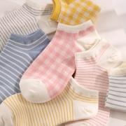 CARAMELLA 女款可爱日系船袜/中筒袜 2双*4件