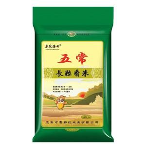 PLUS会员!龙凤海田 东北五常大米 长粒香米 5kg