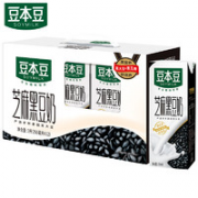 SOYMILK 豆本豆 黑豆奶 250ml*12盒¥24.93 3.2折