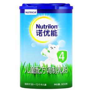 Nutrilon 诺优能 儿童配方奶粉 4段 800g