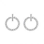AITEKA 爱缇卡 钻石圆环-万年经典AITEKA 爱缇卡 白金色圆钻耳饰117元