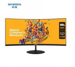SKYWORTH 创维 29C1 29英寸显示器 2560×1440 VA 100HZ 1200R