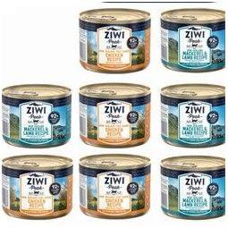 ZIWI 滋益巅峰 宠物主食猫罐头 185g*10罐(2牛+3羊+2马鲛鱼+3马羊)