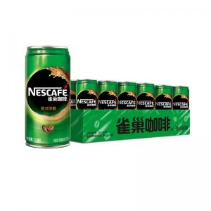 18日0点、88VIP:Nestle/雀巢咖啡 特浓即饮咖啡饮料 210ml*24罐 *2件