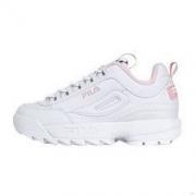 FILA 斐乐 DISRUPTOR 2 中性休闲运动鞋 FS1HTB1074X 白色/粉色 37469元