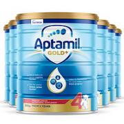 Aptamil 爱他美 金装版婴幼儿奶粉4段 900g*6罐¥638.31 4.9折 比上一次爆料降低 ¥351.69