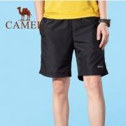CAMEL 骆驼 2021夏季新款 男款休闲五分短裤