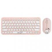 logitech 罗技 LINE FRIENDS系列 Pebble 无线蓝牙鼠标 + K380蓝牙键盘 -可妮兔