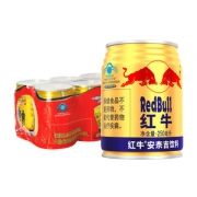Redbull红牛 运动型功能饮料 250ml*6罐*5件30罐125元狂欢价