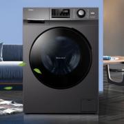 10kg大容量!Haier 海尔 EG100MATE2S10公斤 滚筒洗衣机  10kg