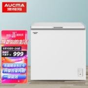 AUCMA 澳柯玛 BC/BD-208HNE 家用顶开门冰柜 208L 白色899.1元包邮(需用券)