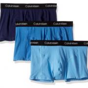 M码!prime会员!Calvin Klein 卡尔文·克莱恩 男士弹力四角内裤3条装  含税到手113元¥96.35