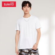 PLUS会员!Baleno 班尼路 88802215 男士打底衫基础百搭短袖T恤¥16.63