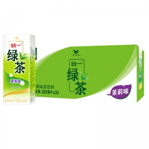 88VIP:统一 绿茶 250ml*24盒/箱*3件