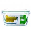 BEST HA 贝特阿斯 高硼硅玻璃饭盒 RLF-1000  正方形1000ml9.8元