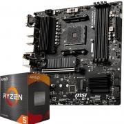 PLUS会员:MSI 微星 B550M PRO-VDH WIFI电脑主板 +AMD 锐龙5 5600X 处理器 板U套装2129元包邮(需用券)