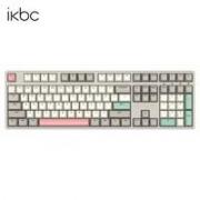 PLUS会员:iKBC W210 2.4G无线机械键盘 108键 红轴 工业灰359元包邮(需用券)(慢津贴后356.7元)(超级补贴)