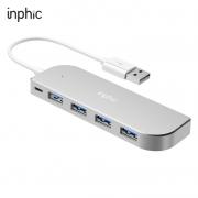 inphic 英菲克 H6 一拖四 USB分线器 0.3m14.9元包邮