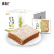 WEICHUDAO 味出道 全麦面包 1000g14.8元包邮(需用券)