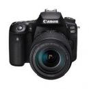 Canon 佳能 EOS 90D APS-C画幅 数码单反相机 黑色 EF-S 18-135mm F3.5 IS USM 变焦镜头 单镜头套机9399元