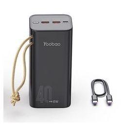 Yoobao 羽博 B-h40 22.5W 移动电源 40000mAh