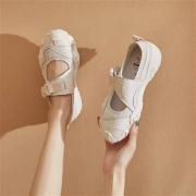 J&M  搭扣一脚蹬 网面老爹鞋 1R0563W52196元包邮