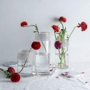 Whole Housewares 玻璃圆柱花瓶 3 件套 居家装饰 适合家庭或婚礼