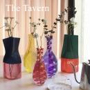 TheTavern日本小众设计 D.BROS 彩色渐变折叠塑料花瓶