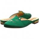Charlotte Olympia 猫咪尖头平底凉鞋