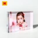 Kodak 柯达 创意亚克力水晶相框套装照片 适用6英寸照片