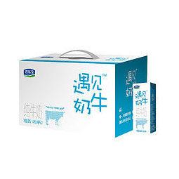 88VIP:JUNLEBAO 君乐宝 遇见奶牛纯牛奶 250ml*12盒