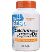Doctor's BEST 维生素D3胶囊 120片
