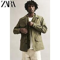 ZARA 06861436505 男士工装夹克