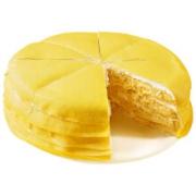 PLUS会员:xianbaike 鲜佰客 6寸榴莲千层蛋糕 400g*2件62元包邮(双重优惠,折31元/件)