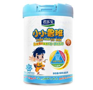 JUNLEBAO 君乐宝 小小鲁班 儿童成长奶粉 4段 800g