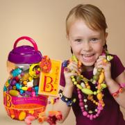 PLUS会员!B.Toys 比乐 手工串珠创意DIY 500粒¥99.00 4.7折 比上一次爆料降低 ¥0.35