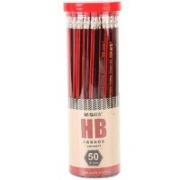 M&G 晨光 AWP30878 皮头书写铅笔 HB 50支/桶¥5.38 2.2折 比上一次爆料降低 ¥4.55