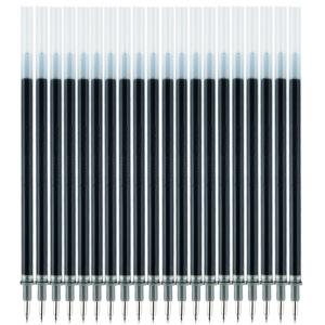 GuangBo 广博 ZX9T08D 子弹头中性笔芯 0.5mm 黑色 20支装