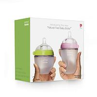comotomo 可么多么 婴儿宽口径硅胶奶瓶 150ml+250ml