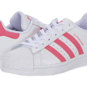 Adidas 阿迪达斯 Superstar金标樱花粉大童款贝壳头板鞋