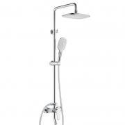 ARROW 箭牌卫浴 三功能方形喷雾增压淋浴花洒套装 A款399元