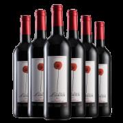 PLUS会员:浪漫之花 经典IGP整箱12%vol葡萄酒 750mL*6支装129元包邮(多重优惠)