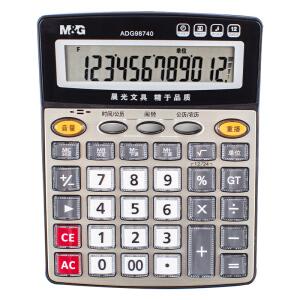 M&G 晨光 ADG98740 12位语音型计算器