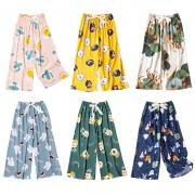 NAWMI 女款 夏季薄款阔腿裤 多款可选 均码12.9元包邮
