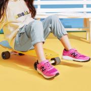 New Balance 女童网面休闲运动鞋  YT570PW(28~40码)¥98.50 2.5折