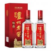 88VIP:LUZHOULAOJIAO 泸州老窖 中华特曲 52度 浓香型白酒 500mL*2瓶499.7元包邮(多重优惠)