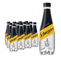 Coca-Cola 可口可乐 怡泉 Schweppes 无糖零卡 苏打水 汽水饮料400ml*12瓶