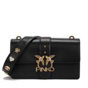 PINKO 品高 1P21SDY6JC 女士徽章配肩带单肩斜挎包