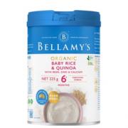 88VIP!BELLAMY'S 贝拉米 婴儿有机藜麦米大米粉 225g