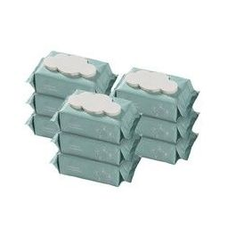 88VIP:babycare 婴儿带盖加厚湿巾 80抽 9包